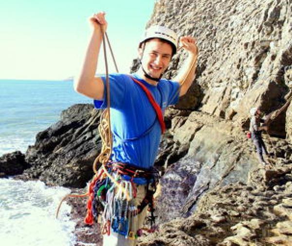 book a climbing course