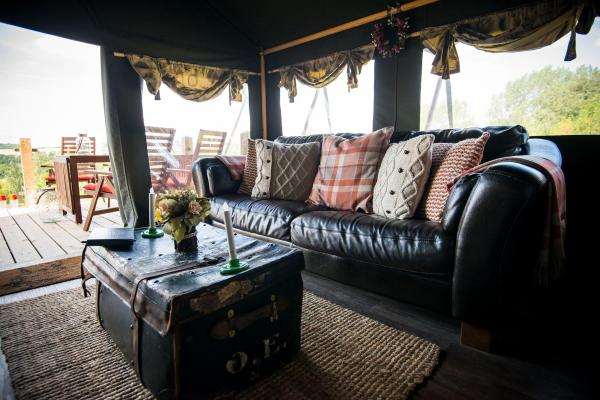 comfy sofa in Ash