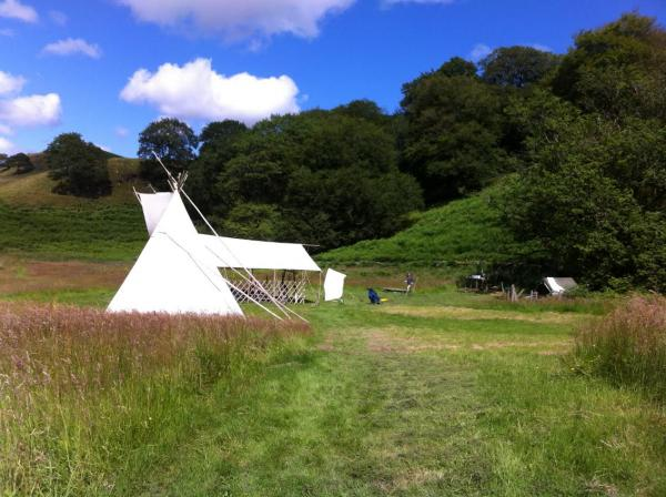 set in a secluded meadow