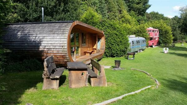 Glamping at Blackberry Wood