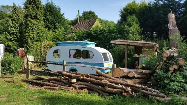 Double Bubble Retro Caravan
