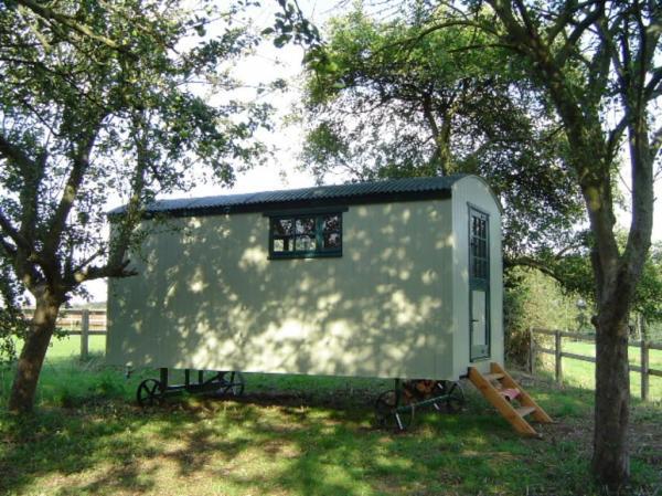 Romantic shepherd hut