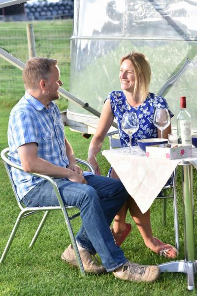 relaxing glamping holiday