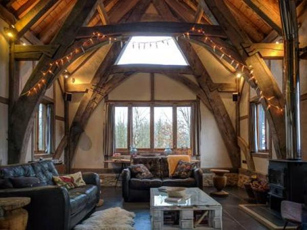 impressive interior beams