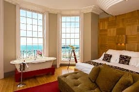 room with stunning views