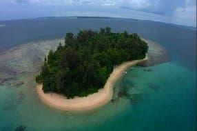 dive resort island