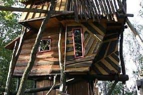 treehouse accom at adventure park