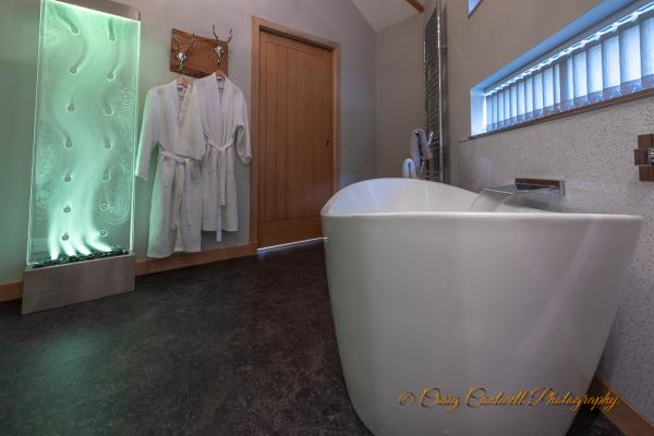 Luxury bathroom in Silver Birch