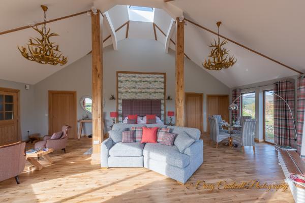 Stunning interior of Silver Birch