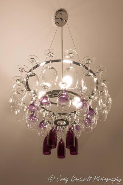 quirky chandelier