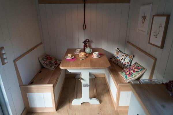 solid oak dining table for 4