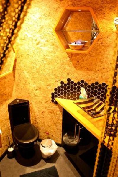 Beehive bathroom