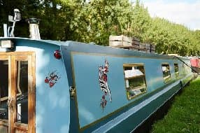Barbara narrowboat