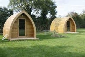 camping pods for 2
