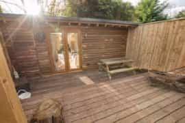 Outdoor sun trap