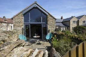 unusual converted barn stay