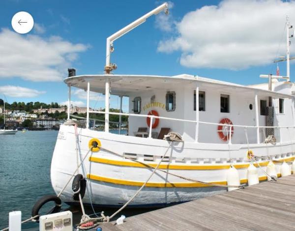 Faithful former fishing boat