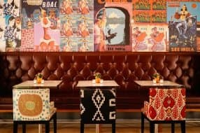 Asia de Cuba restaurant at St Martins Lane