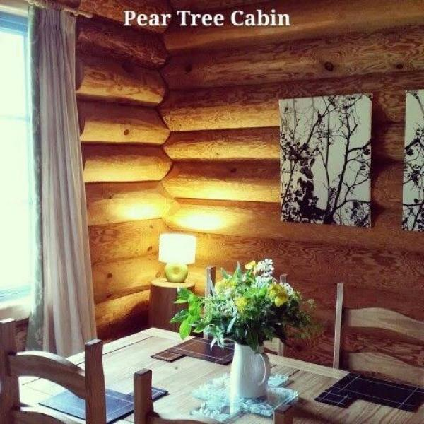 pear tree cabin