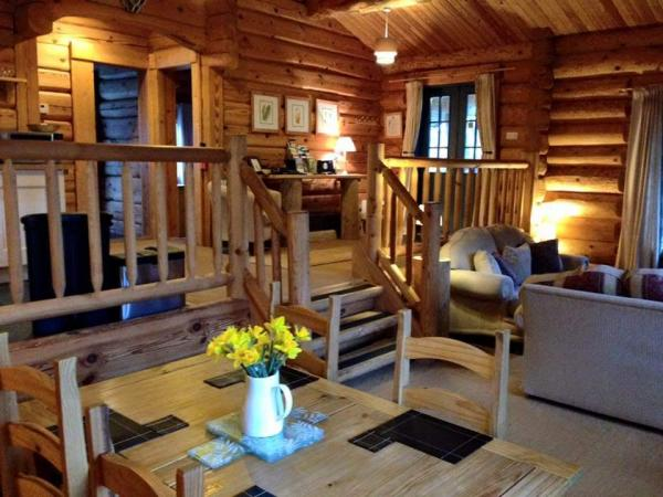 split level cabin