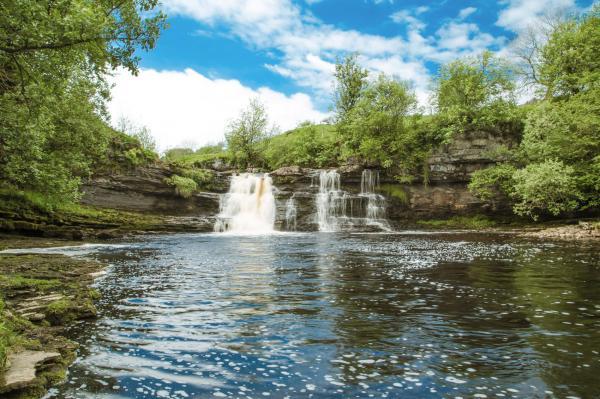 Waterfall found onsite