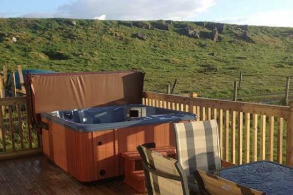 Hot tub at Herding Hill
