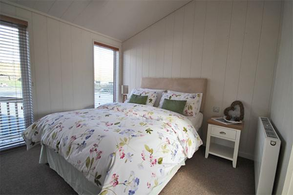 double bedroom in lodge