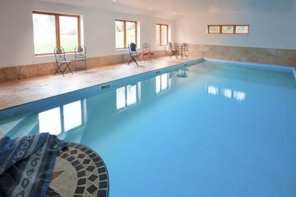 access to heated pool