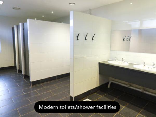 modern facilities