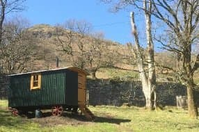 stunning setting for Herdy Huts