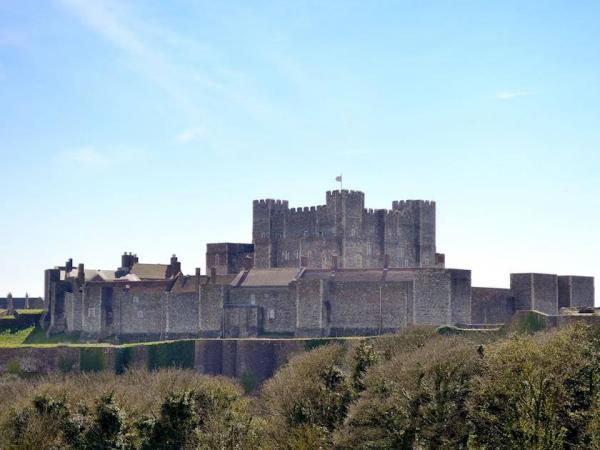 by Dover Castle