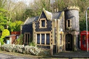 mini Gothic castle