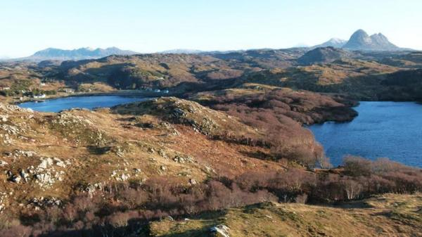 walk to Suilven from Inverkirkaig