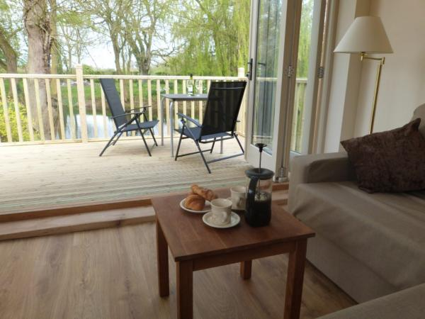 bifold doors out to the decking