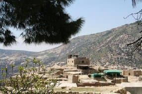overview of hotel in Dana