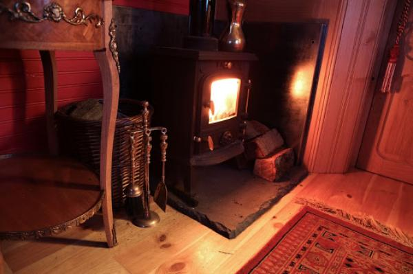 woodturning stove in Karlotta