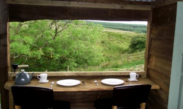 Enjoy the views whilst you dine