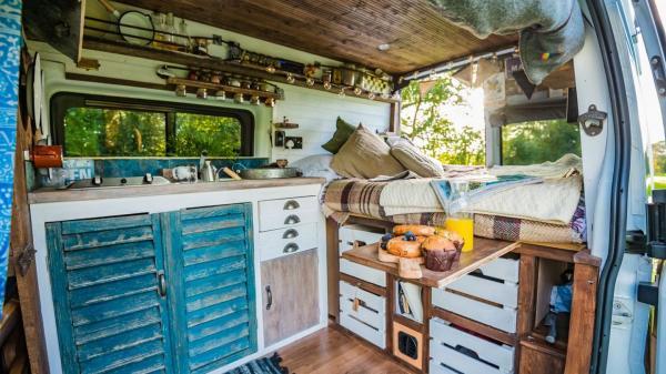 unique campervan stays