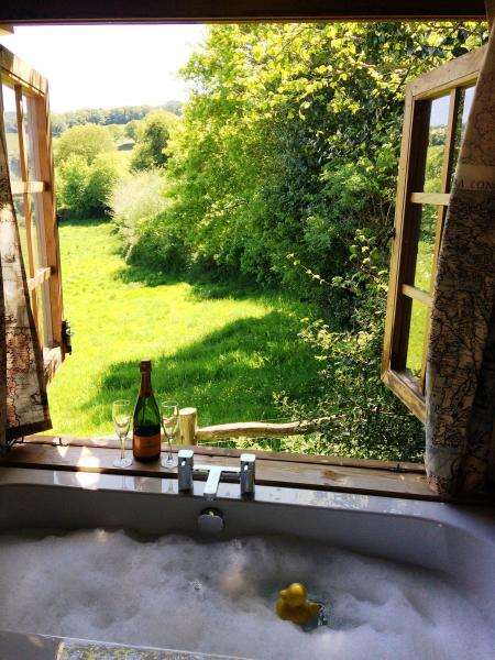 lovely bathtub view