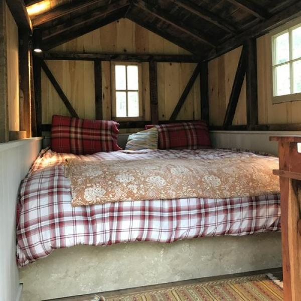 Tawny Hut comes with Denver Rest and sleeps 2