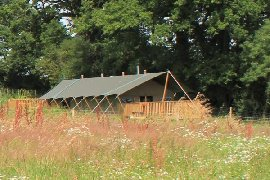 luxury glamping for families