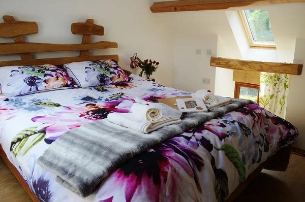Double bedroom at Y Capel