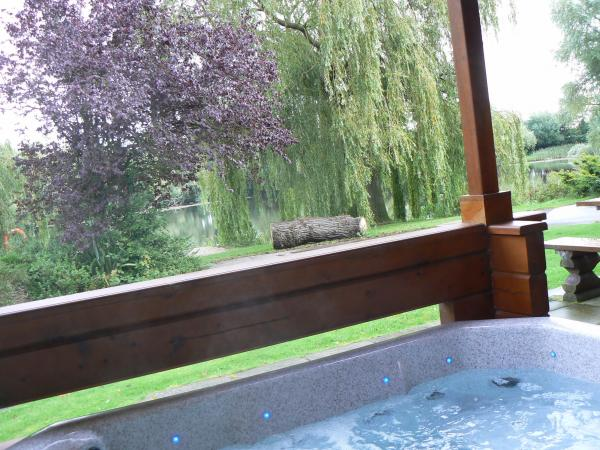lovely views from the hot tub