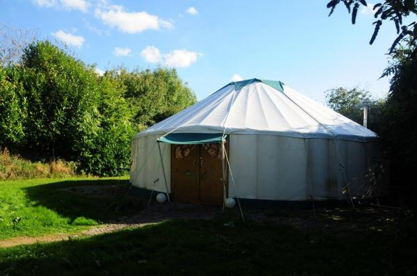 peppermint tent