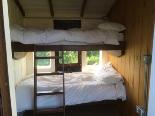 Room with bunk beds suitable for childrens