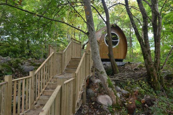 steps to lodge