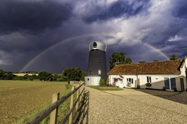 centre of the rainbow