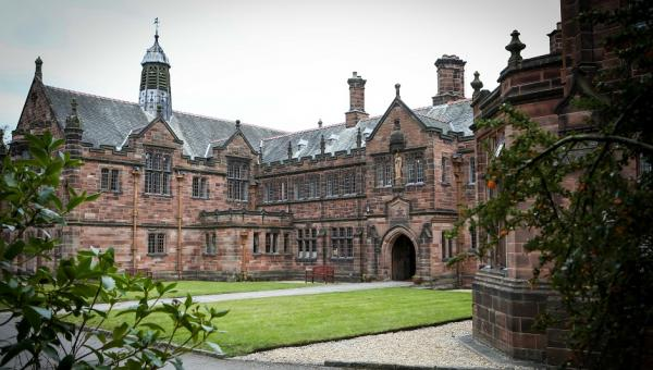 Exterior of Gladstone library residence