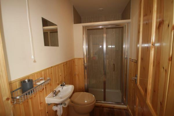 bathroom in pod