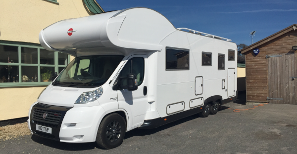 Bertie one of 2 motorhomes for rent